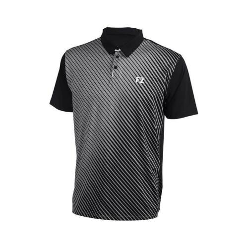 FZ Forza Hampus Junior Badminton Polo Shirt (Grey)