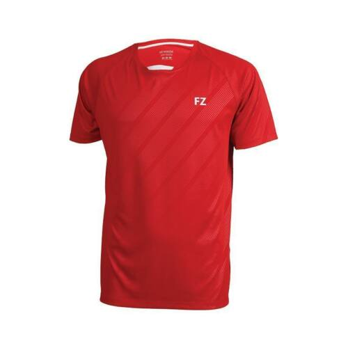 FZ Forza Hector Junior Badminton T-Shirt (Red)
