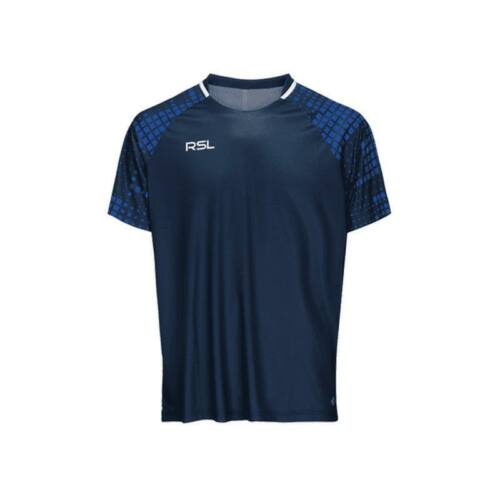 RSL Xenon Junior Badminton T-Shirt (Navy blue)