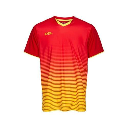 RSL Yendi Junior Badminton T-Shirt (Red)