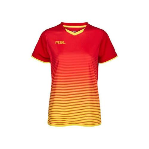 RSL Yendi Womens Badminton T-Shirt (Red)