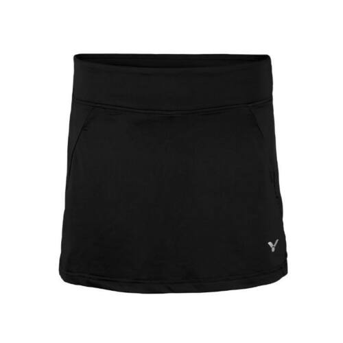 Victor 4188 Womens Badminton Skirt (Black)