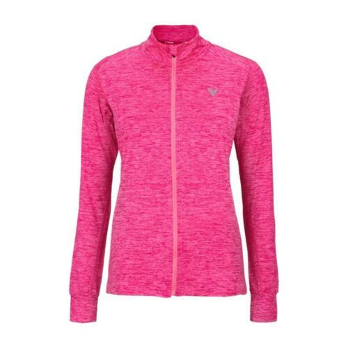 Victor 5929 Womens Long Sleeve Badminton T-Shirt (Pink)
