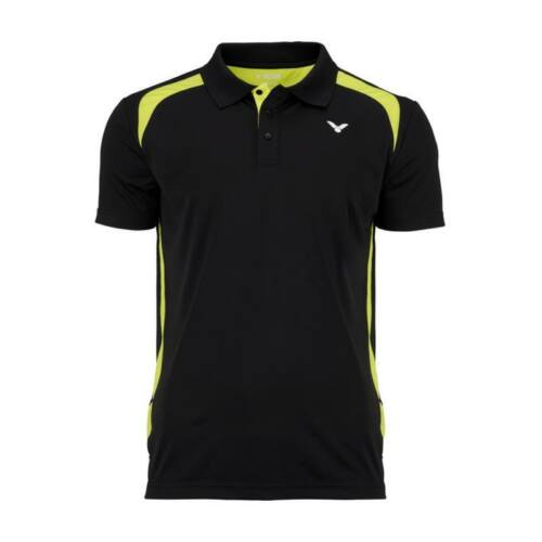 Victor Function 6959 Mens Badminton Polo Shirt (Black)