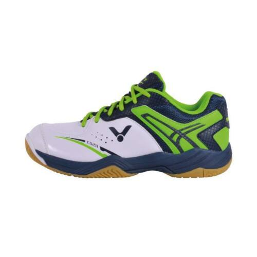 Victor A501 Junior Badminton Shoes (White-Green)