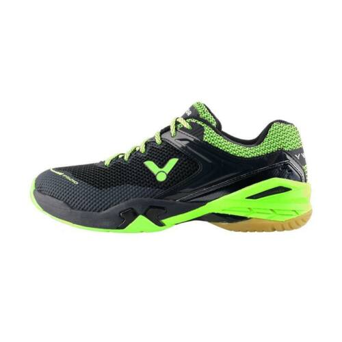 Victor P9210 Junior Badminton Shoes (Black-Green)