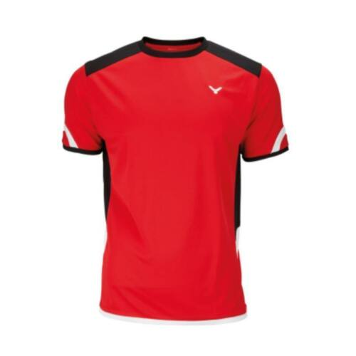 Victor Function 6737 Mens Badminton T-Shirt (Red)